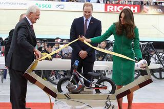 Bike for George at Avantidrome cycling centre opening